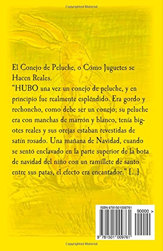 El Conejo de Peluche: O cómo juguetes se hacen reales (Spanish Edition): Margery Williams, William Nicholson: 9781501009761: Amazon.com: Books