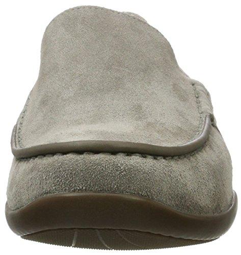 Mephisto Idris Toundra 8660 Warm Grey, Mocasines para Hombre Gris (Warm Grey)