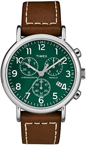 Timex TW2T29100 Weekender Two Piece Leather product image