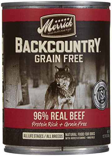 Merrick Backcountry 96% - Real Beef Recipe - 12.7 oz - 12 ct