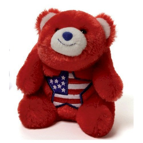 (Gund Snuffles Americana - Red)