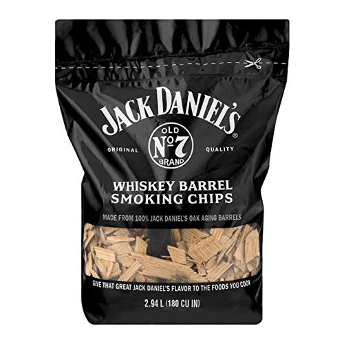 Jack Daniel's Tennessee Whiskey Barrel Smoking Chips, 180 cu - Meat Chips Smoking