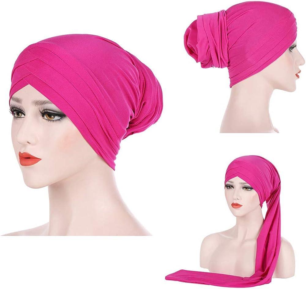 Anxinke Women Fashion Chemo Beanie Muslim Head Wrap