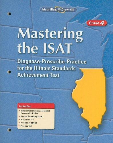 Mastering the ISAT, Grade 4, Student Edition