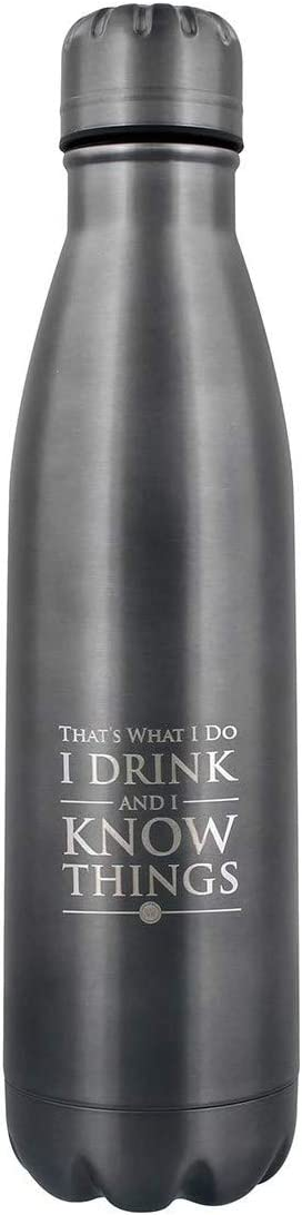 Game of Thrones MDB25400 - Botella de Acero para Adulto, Unisex, 500 ml