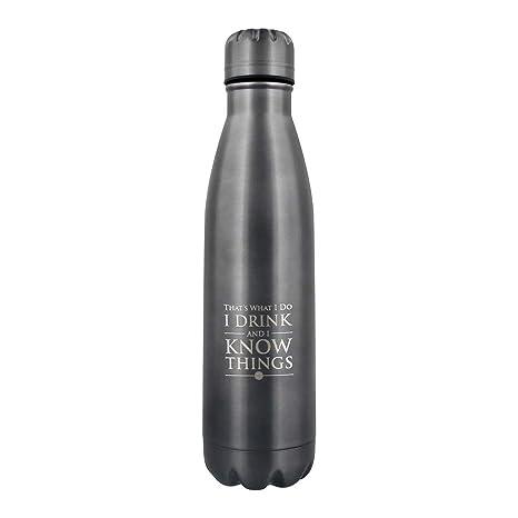 Game Of Thrones Mdb25400 Botella de Acero, Unisex Adulto, 500 ml