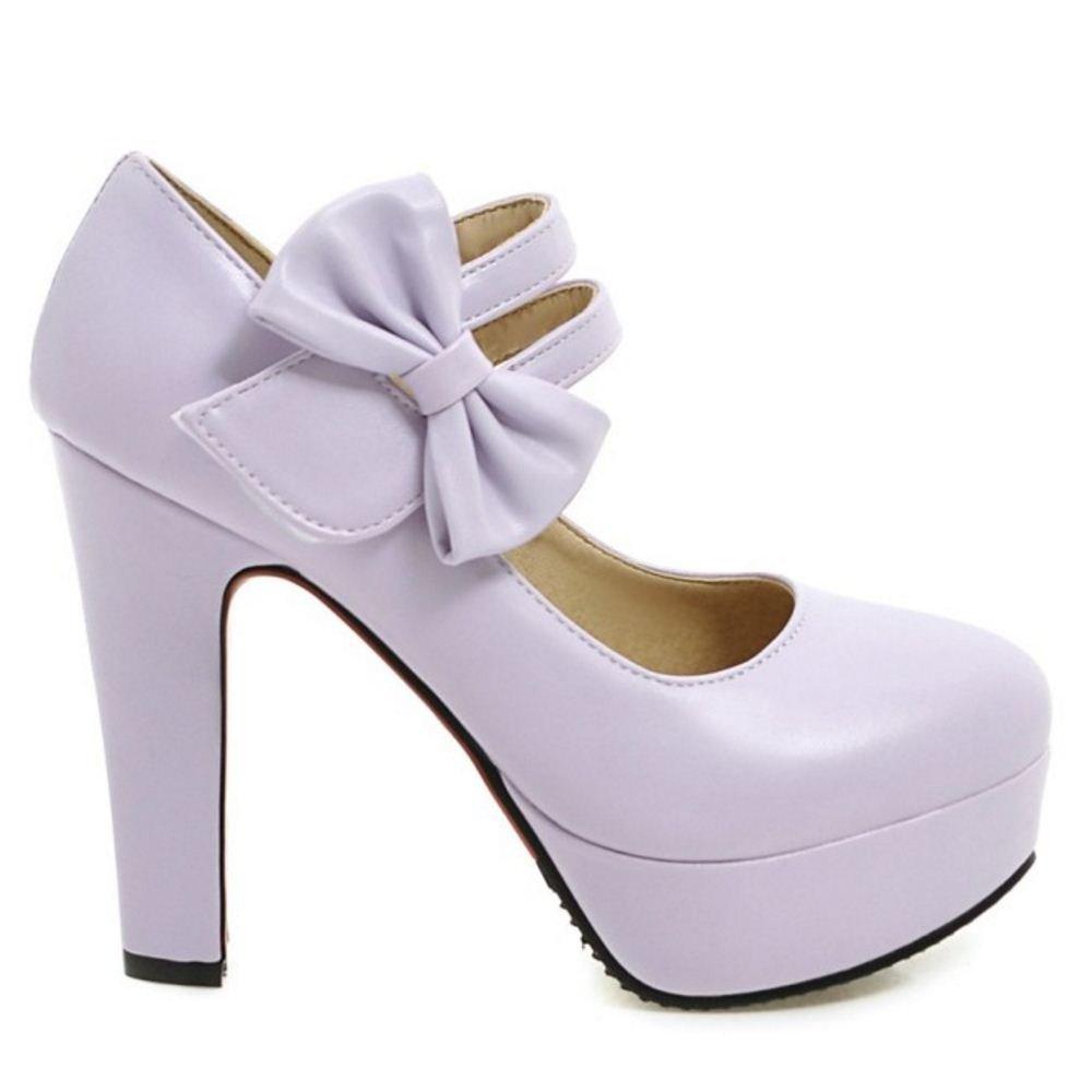 Zanpa Women Sweet Pumps Sandals B078MHM99P 11 US length (sole length US 27.5 CM)|2#Purple 9ec238
