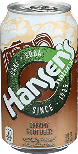 Hansen's Soda, Creamy Root Beer (6 Count, 12 Fl Oz Each)