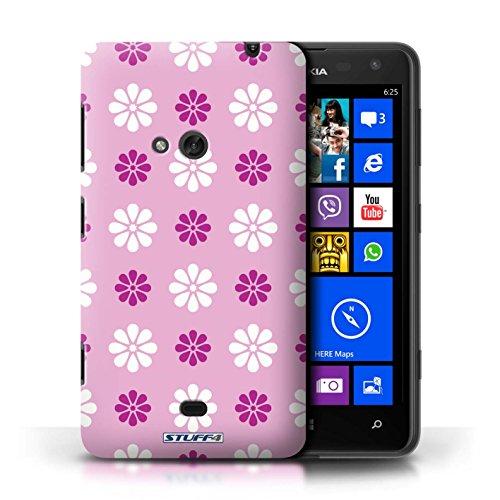 Etui / Coque pour Nokia Lumia 625 / Rose conception / Collection de Motif avec pétales