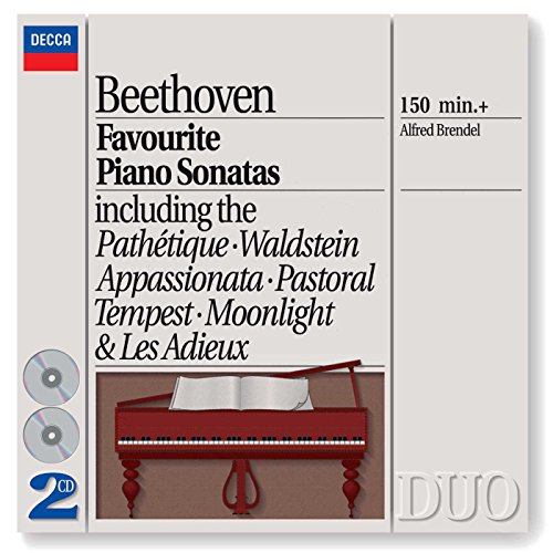 Beethoven: Favourite Piano Sonatas Alfred Brendel Beethoven Piano Sonatas