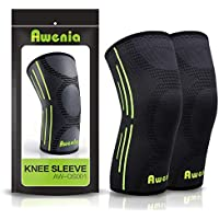 1 Pair Awenia Knee Braces for Joint Pain Relief and Injury Recovery