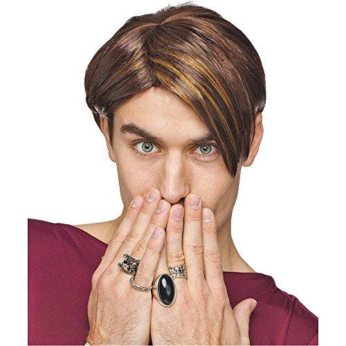 [SNL Stefon Wig Costume Accessory] (Stefon Costume)