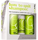 DevaCurl How to Quit Shampoo:Cleanse & Condition Kit