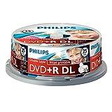 "Philips""25 x DVD+R DL, 8.5GB/240min 8x"""