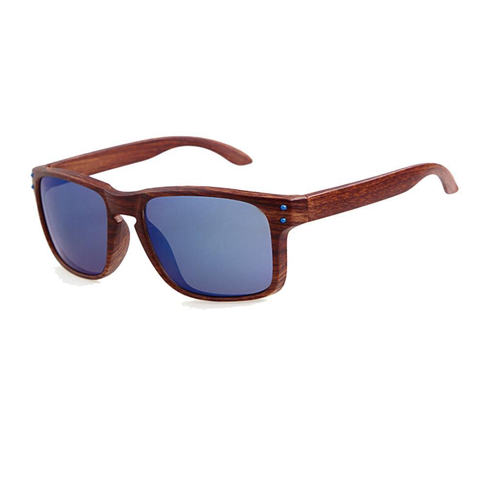 Gafas de ciclismo gafas de sol hombre polarizadas Aviador gafas de sol vintage de ojo de gato retro verano viaje con marco de madera para Deportes acu/áticos Aire libre Colores con estilo