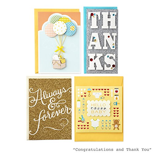 Hallmark All Occasion Handmade Boxed Set of Assorted Greeting Cards with Card Organizer (Pack of 24)—Birthday, Baby, Wedding, Sympathy, Thinking of You, Thank You, Blank Photo #8