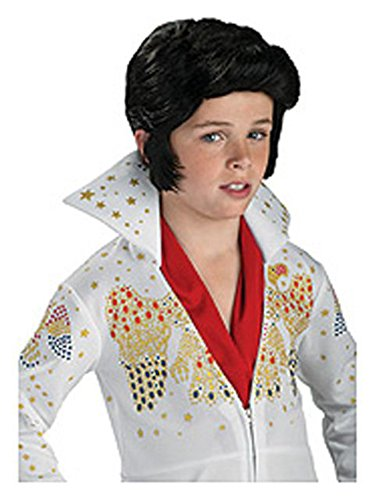 Rubie's Costume Elvis Presley Child Wig (Elvis Costume For Kids)
