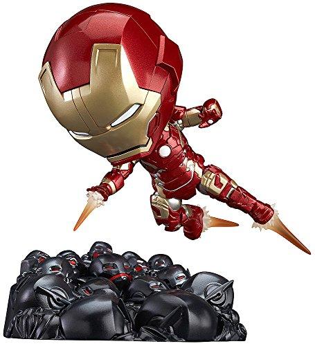 Good Smile Avengers: Age of Ultron: Iron Man Mark 43: Hero's Edition Nendoroid Action Figure Ultron Sentries Set ()
