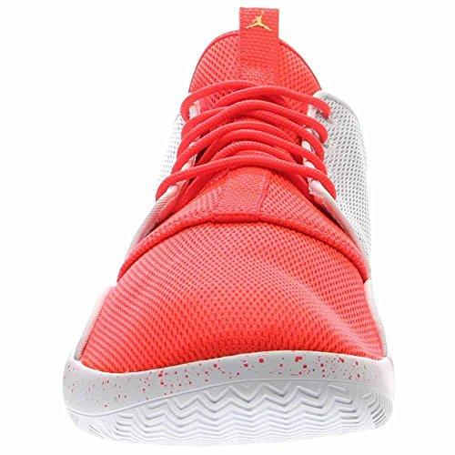 Jordan Nike Menns Formørkelse Hvit / Mtlc Gull Mynt / Infrrd 23 Løpesko 13 Menn Oss