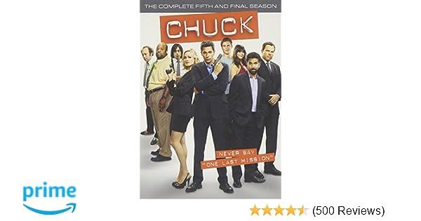 Amazon com: Chuck: The Complete Fifth and Final Season