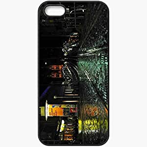 Protective Case Back Cover For iPhone 5 5S Case After Rain Black
