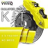VViViD Enamel Paint Wrap High Temperature Vinyl Film For Calipers (Yellow)