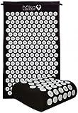 Halsa Mat and Pillow Set - Black - Accupressure Mat and Pillow