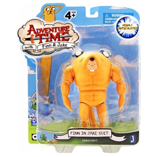 Adventure Time – Finn in Jake Suit – Figurine 12,5 cm (Import Royaume-Uni)