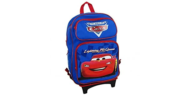 Amazon.com: Officially Licensed Disney Pixar Cars Child Size Convertible Three Zipper Pocket Backpack - Lightning McQueen: Sports & Outdoors