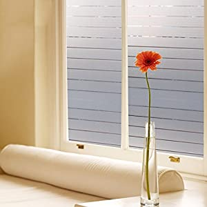 decorative window glass. Bloss Frosted Window Shades Decorative Glass Film Stained Vinyl  Privacy 17 7 by 78 Inch Amazon com