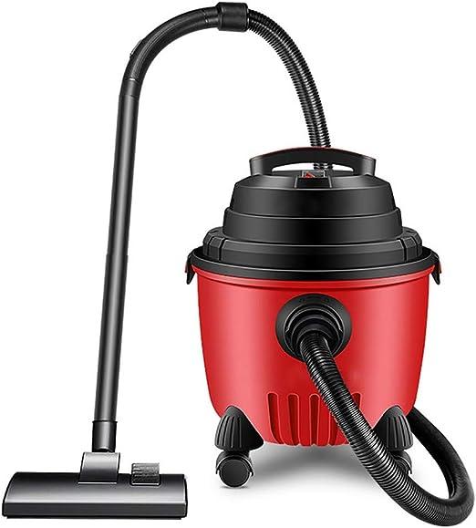 QHQH Aspiradora en seco y en húmedo, Aspirador de Alta Potencia de 1200 w Mini Aspirador Potente Aspirador contenedor de 15 litros de Gran Capacidad para el hogar de la Oficina: Amazon.es: