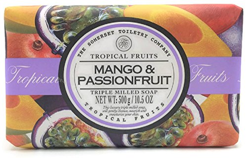 Tropical Fruits Mango and Passionfruit Triple Milled Soap
