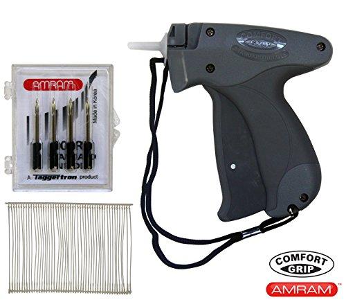 Barbs 5 Needles (Amram Comfort Grip Standard Tagging Gun BONUS KIT with 5 Needles and 1250 2
