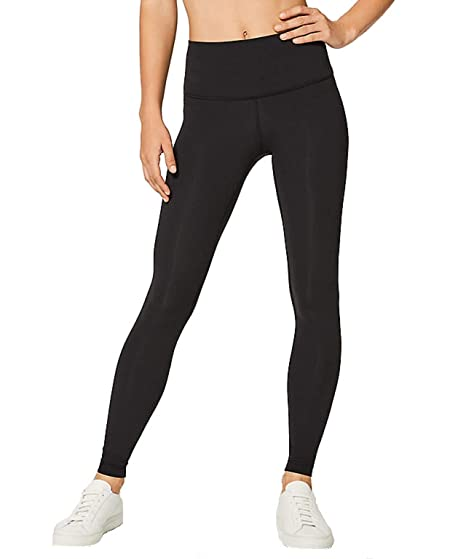 41ba3863e6287 Amazon.com: Lululemon Wunder Under Yoga Pants High-Rise: Sports ...