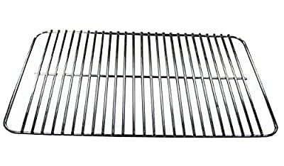 "Grill Valueparts REV631 Chrome Grate For Weber Go Anywhere Grills (Dimensions: 16 X 10"")"