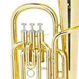 Cecilio 2Series BR-280 Brass Bb Baritone with
