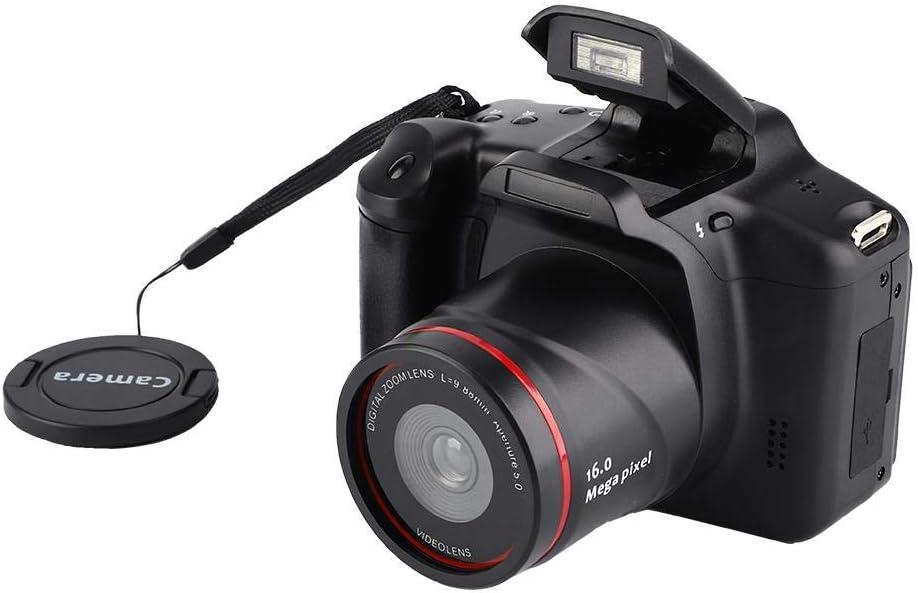 Tosuny Cámara Compacta Digital Zoom 16X 2.4 '' Pantalla 720P 16MP Sensor CMOS Cámara Video Digital, hasta 32G