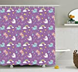 Magic Home Decor Shower Curtain Set by Ambesonne - Best Reviews Guide