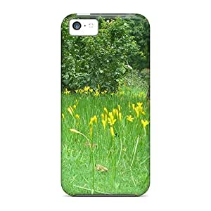 Cynthaskey Case Cover For Iphone 5c - Retailer Packaging Tiny Yellow Flowers Protective Case