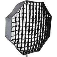 Neewer Photo Studio 31/80cm Octagon Umbrella Type Speedlite Softbox with Grid for Portraits,Product Photography and Video Shooting