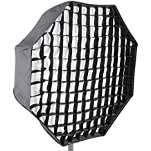 "Neewer Photo Studio 31""/80cm Octagon Umbrella Type Speedlite Softbox with Grid for Portraits,Product Photography and Video Shooting"
