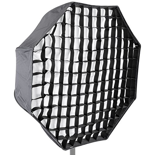 "Neewer Photo Studio 31""/80cm Octagon Umbrella Type Speedlite Softbox with Grid for Portraits,Product Photography and Video Shooting from Neewer"