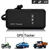 Likorlove -Vehicle Car GPS Tracker Tracking Device Mini GSM GPRS SMS Locator Global Real Time for Car Auto Vehicle Motorcycle Bycicle Scooter (2.5 * 4.6 * 5.6 cm)