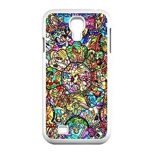Dieney W7X3Ej Funda Samsung Galaxy S4 9500 funda del teléfono celular de la caja del teléfono blanco M4M1NR funda dura personalizadas