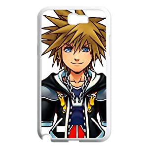 Kingdom Hearts Samsung Galaxy N2 7100 Cell Phone Case White MS4613089