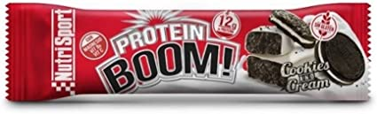 Nutrisport Barr. Protein Boom Cookies 50 g: Amazon.es: Belleza