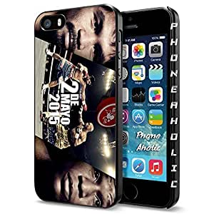 Floyd Mayweather and Manny Pacquiao the Champions, Boxing, Boxer , Cool iPhone 6 4.7 Smartphone Case Cover Collector iphone Black