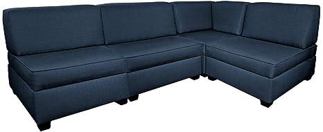 Amazon.com: Corner Sectional Sofa Bed: Kitchen & Dining