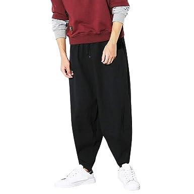 Pantalones Caqui Hombre Pantalones Cagados Hombre Ajustados ...