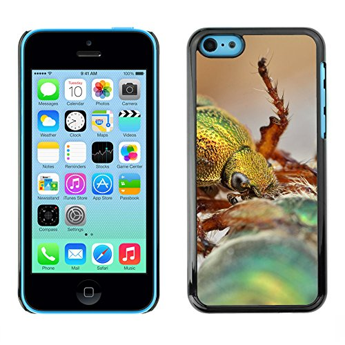 Premio Sottile Slim Cassa Custodia Case Cover Shell // F00010803 insecte // Apple iPhone 5C
